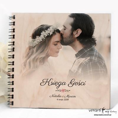 Ślubna księga gości z Waszym zdjęciem
