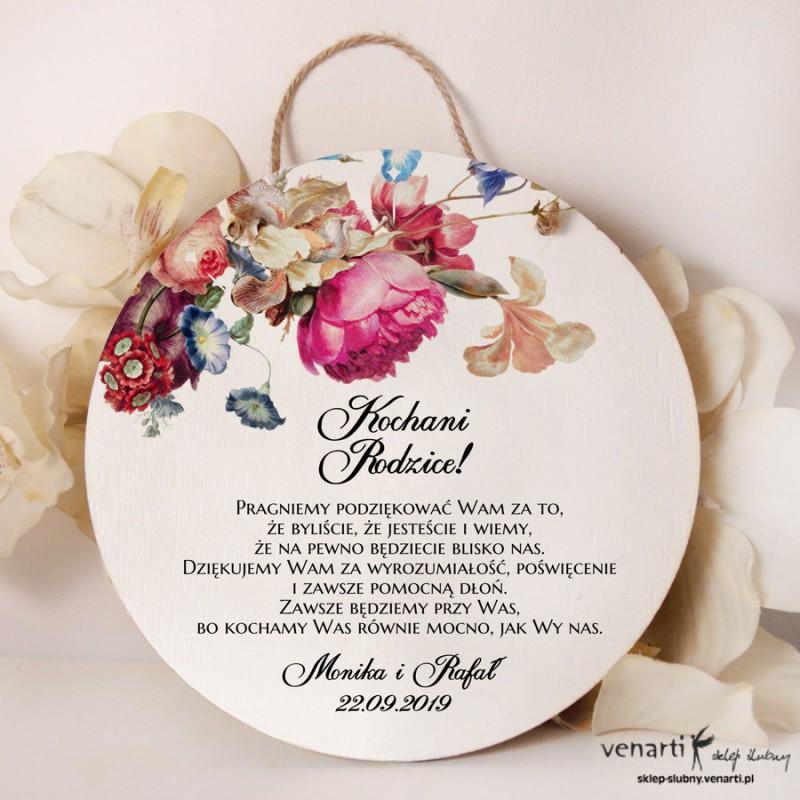 Eko kwiaty Dyplom ślubny