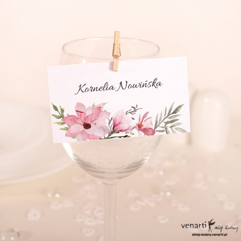 Winietki ślubne Magnolia