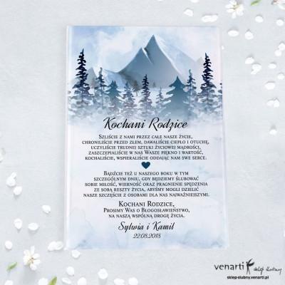 Góry Szklana prośba o błogosławieństwo