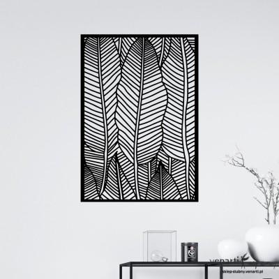 Podłużne liście Panele ażurowe na ścianę