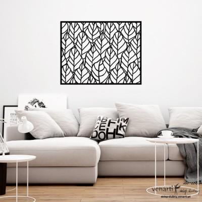 Liście liście Panele ażurowe na ścianę