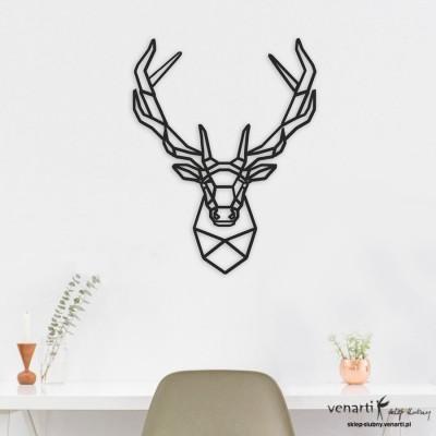Jeleń Obraz ażurowy na ścianę