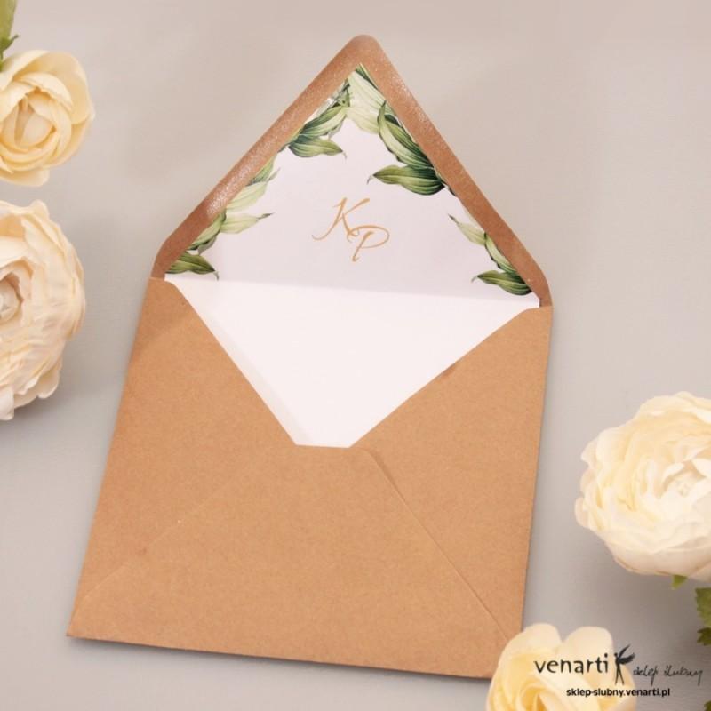 Wyklejki do kopert ślubnych kwadratowych
