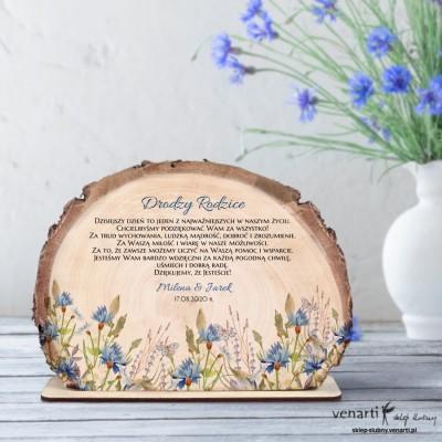 Chabry Podziękowania dla Rodziców Ślubna statuetka Plaster brzozy