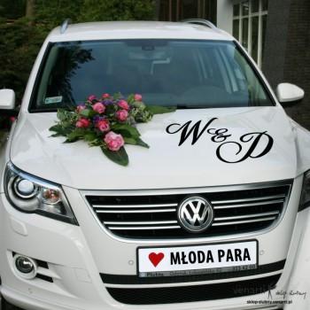 Dekoracje ślubnego samochodu - Venarti sklep ślubny