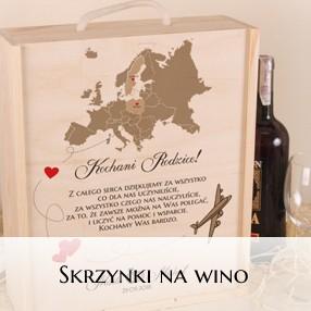 Skrzynki na wino